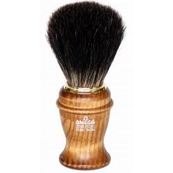 photo de Blaireau OMEGA pur poil manche bois de frêne (6191)