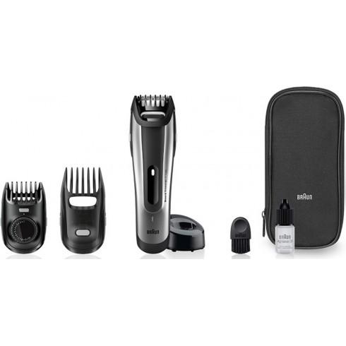 achat en ligne braun bt5090 tondeuse barbe silver 2 en 1 avec sabot. Black Bedroom Furniture Sets. Home Design Ideas