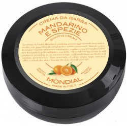 photo de Crème à barbe MANDARINO, mandarine 75ml MONDIAL 1908