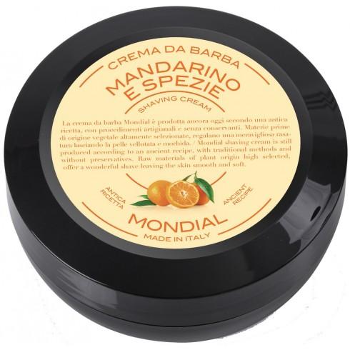 photo de Crème à barbe MANDARINO, mandarine 75ml MONDIAL 1908