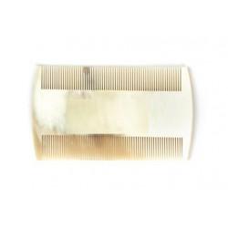photo de Peigne-décrassoir à dents ultra fines en corne véritable 8cm LORDSON
