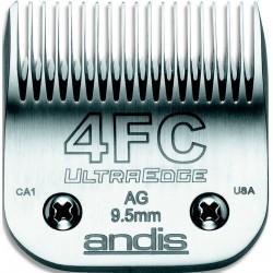 photo de Lame 9.5 mm N°4FC ANDIS, tête de coupe TC64123 pour tondeuse PRO AGC/AGR/BGC/MBG/SMC
