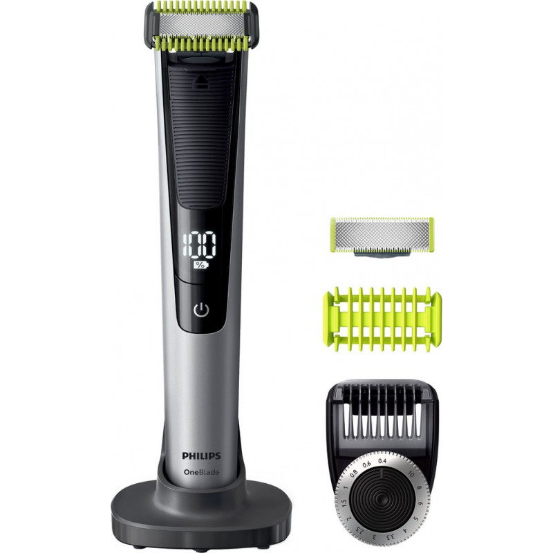 philips qp6620 20 oneblade pro philips tondeuse barbe homme visage corps rechargeable le. Black Bedroom Furniture Sets. Home Design Ideas