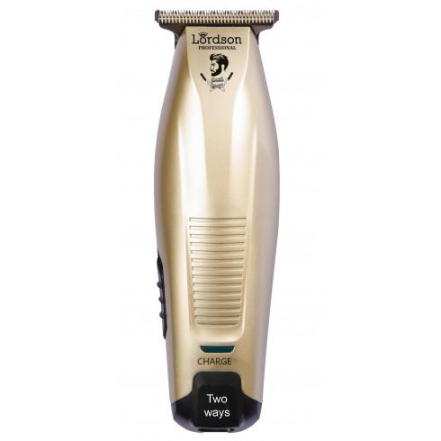 Tondeuse cheveux de finition LORDSON LC911 Bronze rechargeable et secteur / USB