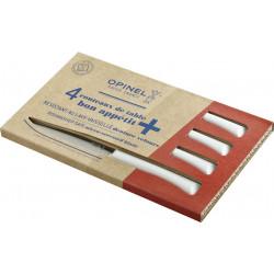 Coffret 4 Couteaux de table bleu nuage micro-dentés, lave-vaiselle OPINEL