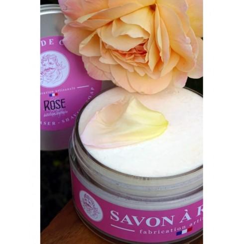 Savon à Raser MARTIN DE CANDRE parfum Rose 200gr