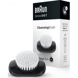 Brosse nettoyante visage BRAUN pour rasoir EasyClick Séries 5,6 et 7