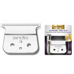 Tête de coupe en T Andis inox 0.00mm pour SLIMLINE PRO GTX D-8