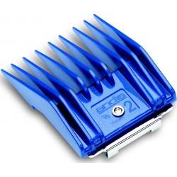 photo de Sabot 10 mm N°2 (peigne adaptable) ANDIS pour tondeuse PRO AGR/AGC/MBG2/BGC2, MOSER 1245, LORDSON LA9010/60