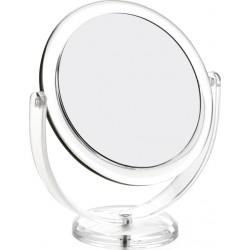 photo de Miroir sur pied acrylique grossissant X10 diamètre 15cm, (64020T)