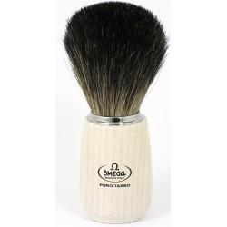 photo de Blaireau OMEGA en pur poil manche bois frêne clair (6711)
